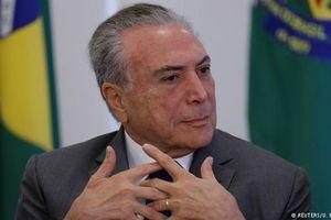 Tổng thống đương nhiệm Brazil bị cáo buộc tham nhũng và rửa tiền