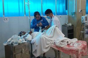 Nổ thùng phuy chứa dầu khi hàn xì, 3 người bị thương