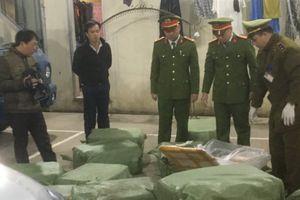 Quảng Ninh: Tạm giữ gần 500 tấn nội tạng đông lạnh trên tàu Trung Quốc