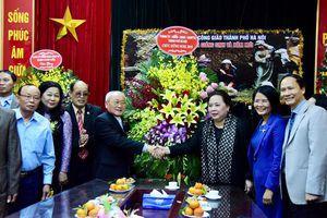 Chủ tịch HĐND thành phố chúc mừng Ủy ban Đoàn kết Công giáo Việt Nam TP Hà Nội