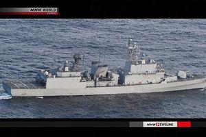 Tàu chiến Hàn Quốc khóa mục tiêu máy bay tuần tra Nhật Bản