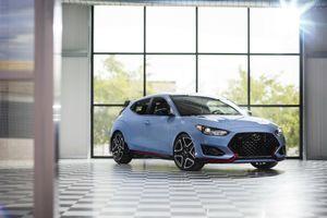 Hatchback thể thao Hyundai Veloster N 2019 giá từ 28.000 USD