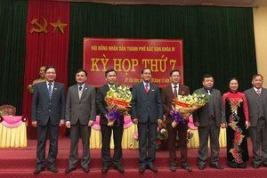 Ông Dương Hữu Bường được bầu giữ chức Chủ tịch UBND TP. Bắc Kạn