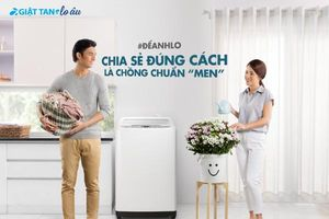 HITACHI giới thiệu máy giặt cửa trên ấn tượng 'Nâng tầm cuộc sống'