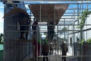 Tháo dỡ hàng loạt nhà trái phép trên đất lâm nghiệp