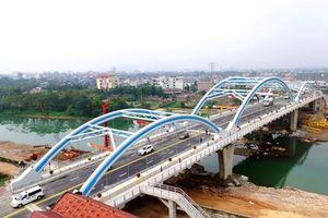 Thông xe cầu Bến Tượng ở Thái Nguyên