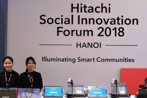 Hitachi giới thiệu những giải pháp cải thiện cộng đồng