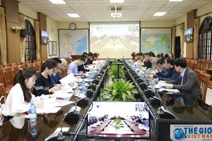 Họp trực tuyến thường niên về công tác ISO của Bộ Ngoại giao