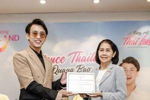 MC Quang Bảo làm đại sứ du lịch Thái Lan