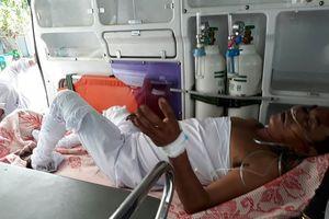 Nổ thùng phuy chứa dầu, 3 người bị thương