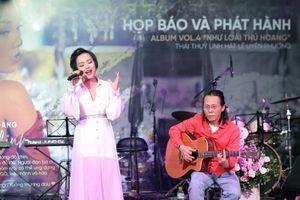 Thái Thùy Linh, người đàn bà sầm sập như cơn bão biết hạnh phúc
