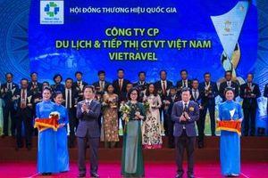 Vietravel lần thứ 4 liên tiếp đạt giải 'Thương hiệu Quốc gia'