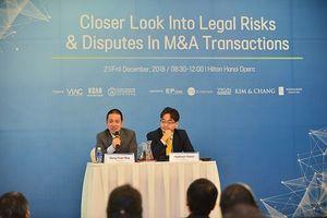 Doanh nghiệp cần chủ động nhận diện rủi ro trong giao dịch M&A