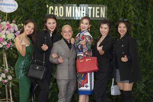 Lã Thanh Huyền, Ngọc Hân đến chúc mừng NTK Cao Minh Tiến mở triển lãm