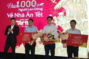 TP Hồ Chí Minh: Tặng 1.000 vé máy bay về nhà ăn Tết cho người lao động