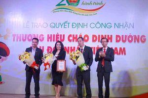 Công nhận Cây Thị là thương hiệu cháo dinh dưỡng lâu đời nhất Việt Nam