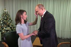 Cô gái mù thỏa ước mong phỏng vấn Tổng thống Putin