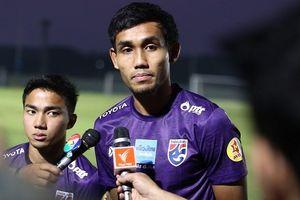 Dangda nói lời chia tay đội tuyển Thái Lan sau Asian Cup