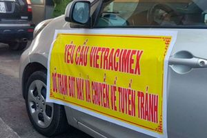 Người dân tiếp tục phản đối, yêu cầu di dời Trạm Bắc Thăng Long - Nội Bài