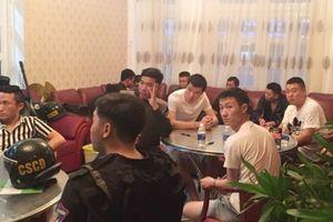Bắt giữ nhóm người Trung Quốc thuê khách sạn, biệt thự để hoạt động phạm tội công nghệ cao