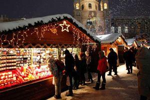 Đừng tiếc thời gian ghé thăm những khu chợ Giáng sinh rộn ràng khắp châu Âu