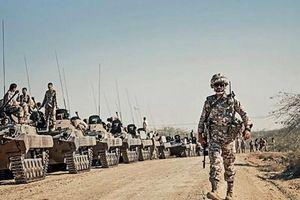 Lực lượng IRGC của Iran bắt đầu tiến hành tập trận quy mô lớn