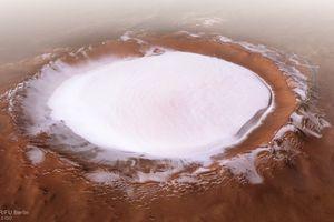 Những hình ảnh ảo diệu về 'nước' trên Sao Hỏa