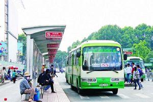 TP.HCM: Điều chỉnh các chuyến xe buýt phục vụ người dân dịp Tết Dương lịch 2019