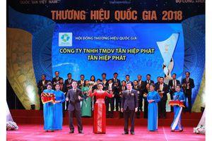 Tân Hiệp Phát, Ôtô Trường Hải cùng được vinh danh 'Thương hiệu Quốc gia 2018'