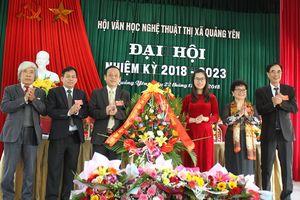 Hội Văn học nghệ thuật Quảng Yên, Móng Cái tổ chức đại hội