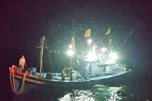 Tàu cá bị nạn được cứu hộ kịp thời