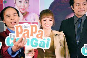 Giảm 8kg, Kaity Nguyễn xinh như búp bê dự ra mắt phim cùng Thái Hòa