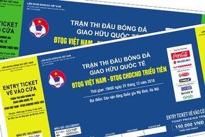 VFF 'khoe' bán được 15.000 vé online trận giao hữu Việt Nam vs Triều Tiên, fan buông lời cay đắng