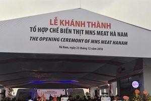 Masan khánh thành Tổ hợp chế biến thịt MNS MEAT 1000 tỷ ở Hà Nam