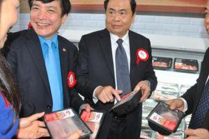 Khánh thành Tổ hợp giết mổ, chế biến thịt lợn mát đầu tiên tại VN