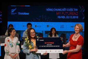 Sinh viên ĐH Ngoại Thương chiến thắng Cuộc thi My FutureNZ