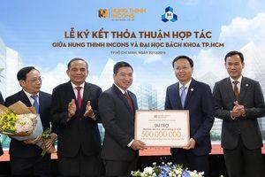 Hưng Thịnh Incons ký kết hợp tác cùng trường Đại học Bách Khoa TP. Hồ Chí Minh