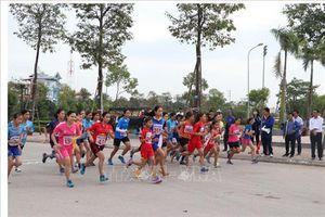 Phát động Ngày chạy Olympic vì sức khỏe toàn dân tại Hải Dương