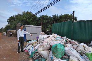 Dân 'kêu trời' vì cơ sở tái chế bao bì gây ô nhiễm
