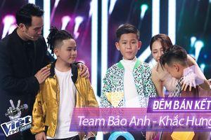 'Hi hữu' trong lịch sử The Voice Kids, Bảo Anh - Khắc Hưng 'banh team' dù đông thành viên nhất tại Bán Kết