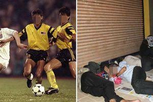 Góc khuất của cựu cầu thủ bóng đá, bị ép ngủ trên vỉa hè vì lý do này