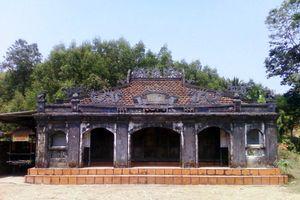 Quảng Ngãi: Thống nhất trùng tu, sửa chữa Di tích kiến trúc nghệ thuật Đình Thi Phổ