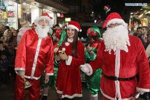 Damascus (Syria) đón Giáng sinh trọn vẹn đầu tiên sau 7 năm nội chiến