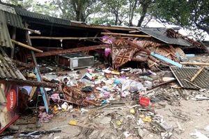 Sóng thần ở Indonesia: Số người chết tăng nhanh lên 168