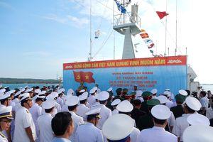 Quân chủng Hải quân tưởng niệm cán bộ, chiến sĩ hy sinh trong chiến dịch đổ bộ đường biển Tà Lơn