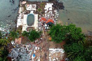 Chuyên gia Anh: Núi lửa có nguy cơ gây thêm lở đất, sóng thần tàn phá bờ biển Indonesia