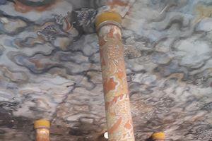 Giữ nguyên bức bích họa quý ở chùa Diệu Đế