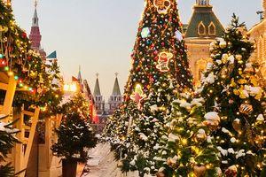 Du học sinh Việt chìm đắm trong cổ tích Nga mùa Giáng sinh