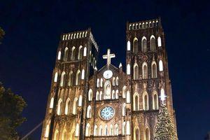 Các nhà thờ ở Hà Nội bạn có thể đến dự lễ Giáng sinh