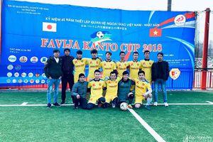 Các đội bóng đồng hương xứ Nghệ giành giải 3 tại FAVIJA Kanto Cup (Nhật Bản)